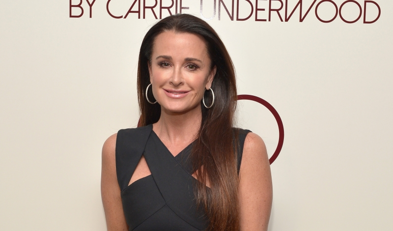 WEST HOLLYWOOD, CA - MARCH 10:  Tv personality Kyle Richards attends CALIA By Carrie Underwood Launch Event on March 10, 2015 in West Hollywood, California.  (Photo by Charley Gallay/Getty Images for DICK'S Sporting Goods)