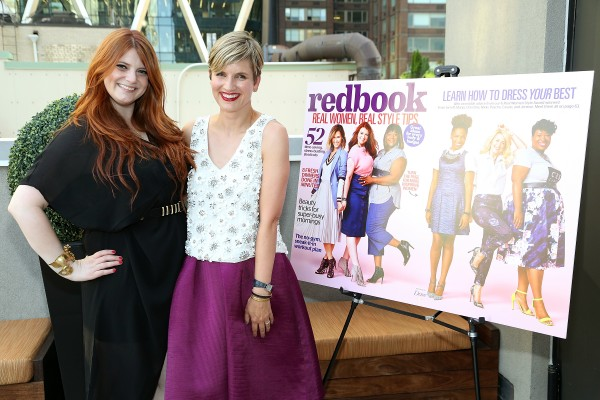 Real Women Style Awards winner Christine Buzan and Redbook Editor in Chief Meredith Rollins