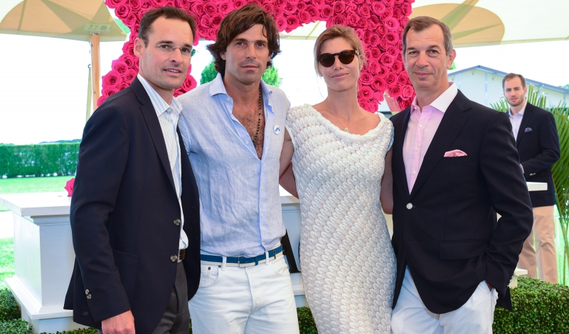 Thomas Bouillonnec, Nacho Figueras, Delphine Blaquier,  Phillippe Leopold-Metzger