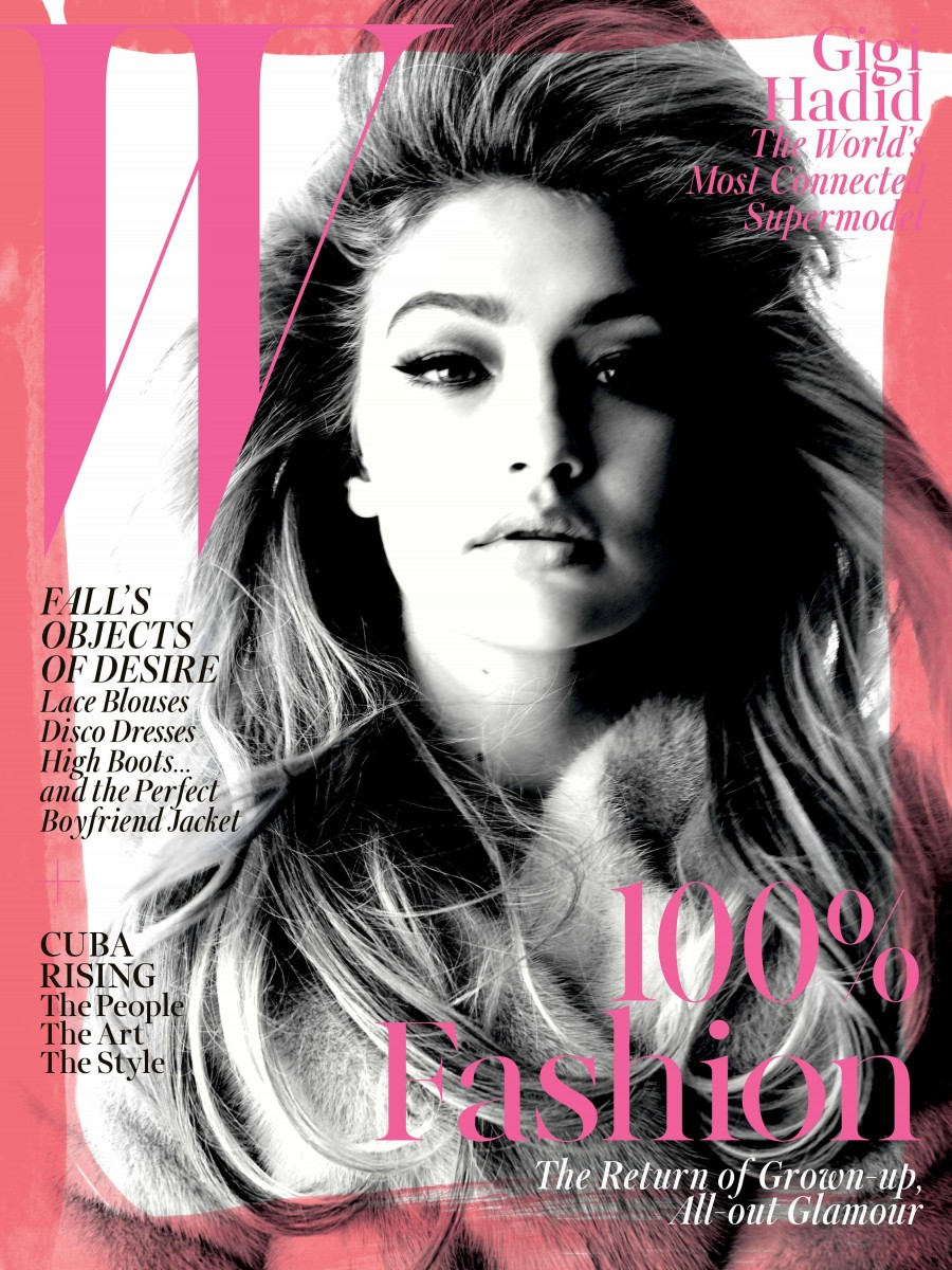 Gigi Hadid: The Post It Girl