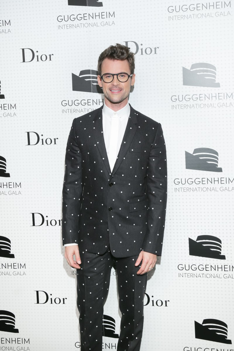 2014 GUGGENHEIM International Gala Dinner hosted by DIOR