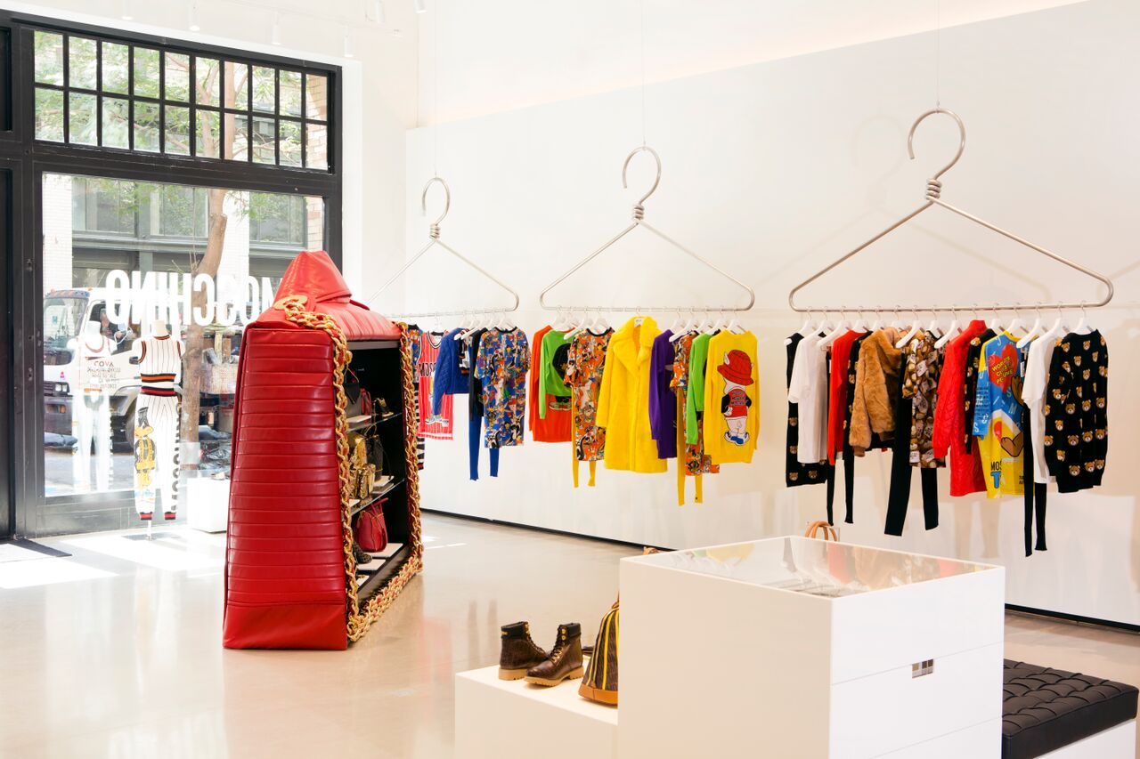 First Look: Inside Moschino's First NYC Store
