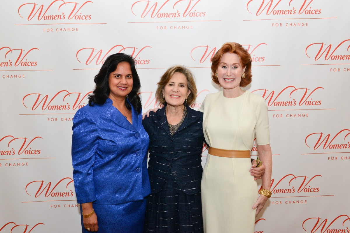 Women's Voices for Change Luncheon in honor of Christy Turlington Burns, 2015 Champion For Change