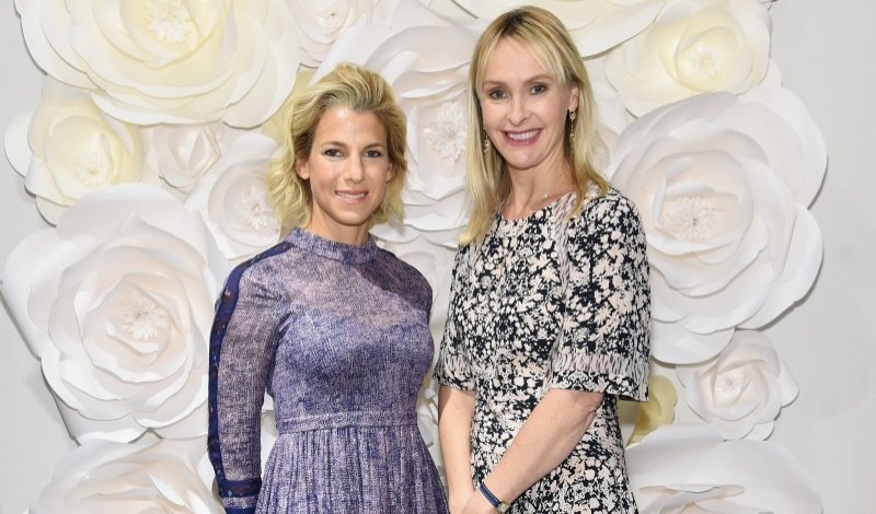 NEW YORK, NY - SEPTEMBER 24:  Baby Buggy founder Jessica Seinfeld (L) and designer Rebecca Taylor attend Jessica Seinfeld & Rebecca Taylor's shopping event in support of Baby Buggy at Rebecca Taylor on September 24, 2015 in New York City.  (Photo by Jamie McCarthy/Getty Images for Baby Buggy)