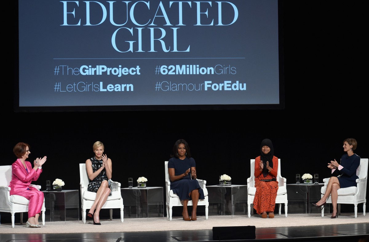 "Glamour Hosts ""The Power Of An Educated Girl"" With First Lady Michelle Obama"