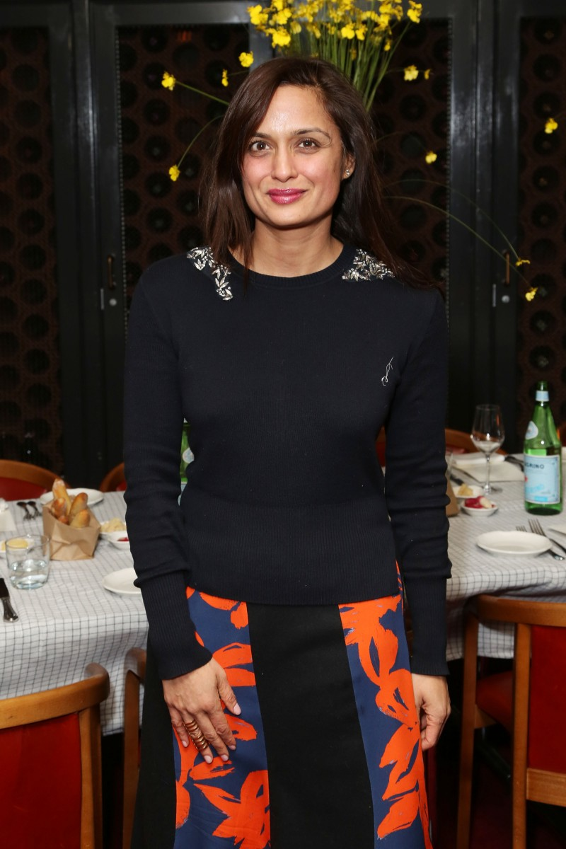 Roopal Patel== VOGUE MEXICO AND LATIN AMERICA 15th Anniversary Dinner Honoring Kelly Talamas Editor-in-Chief== The Standard Grill, NYC== February 11, 2015== ©Patrick McMullan== photo - J Grassi/PatrickMcMullan.com== ==