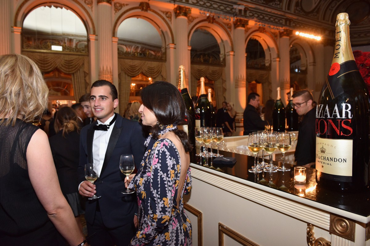 Belvedere Vodka And Moet & Chandon Toast To Harper's Bazaar Icons