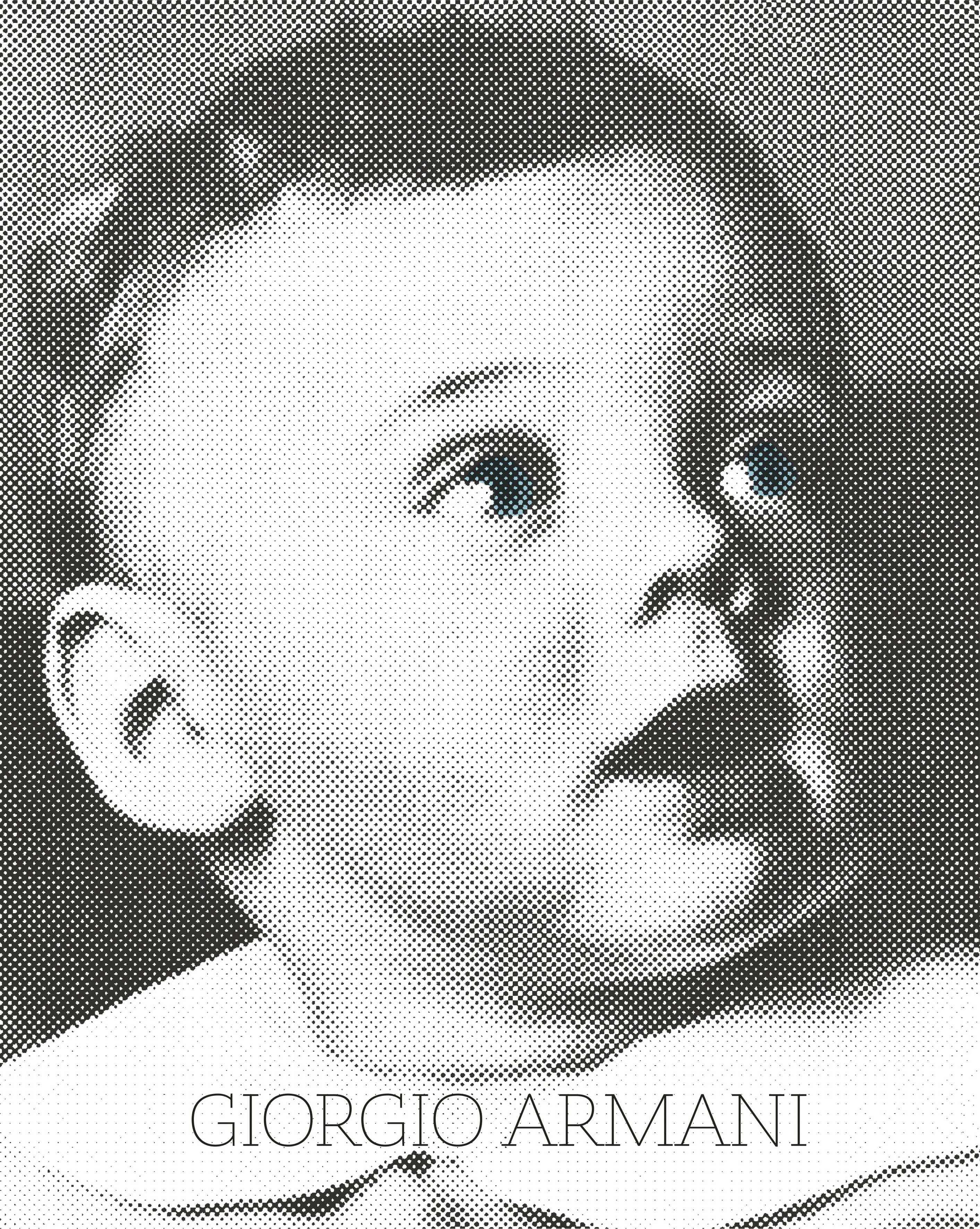 Details on the Giorgio Armani Autobiography