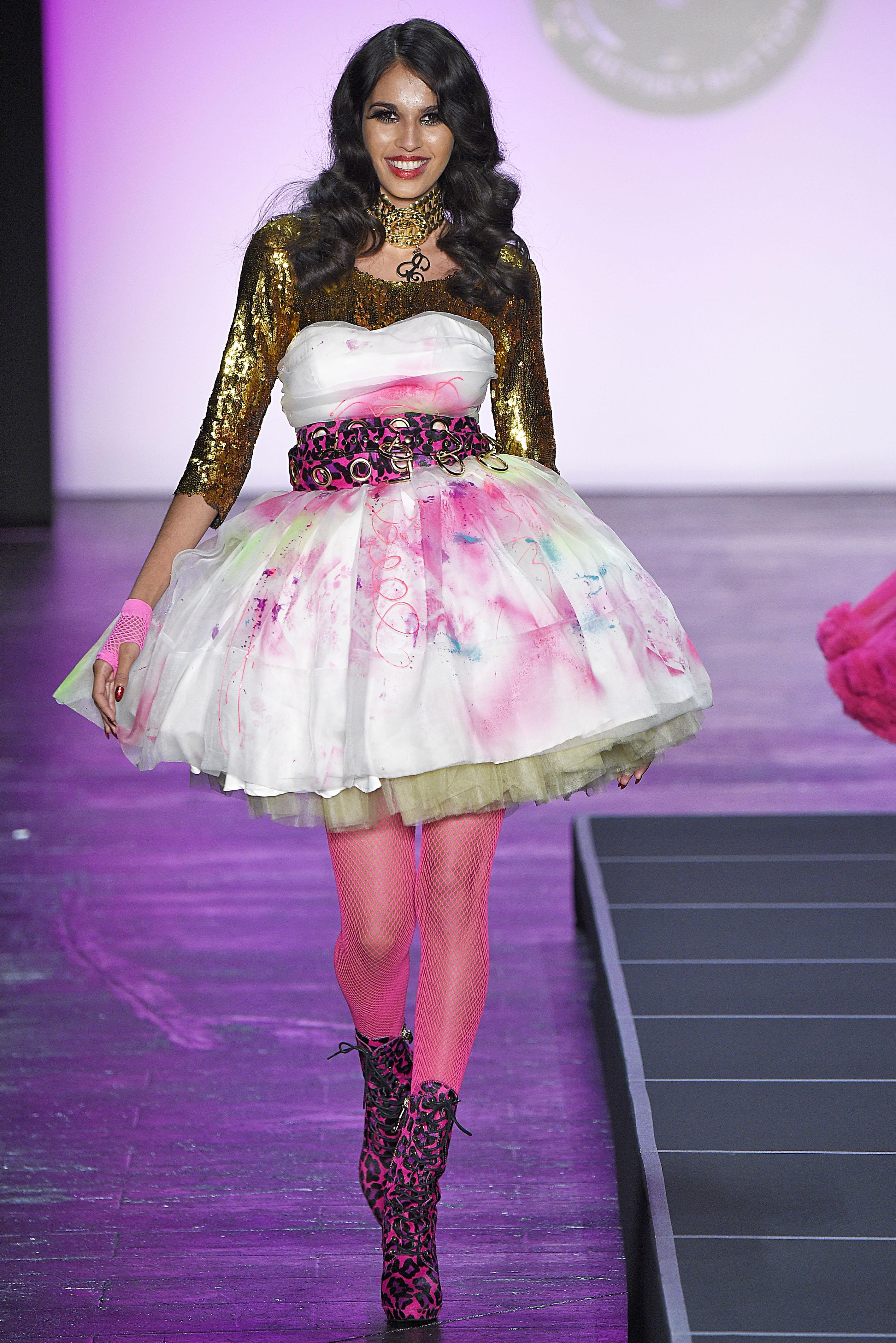 Atractivo Vestido De Fiesta Betsey Johnson Componente - Colección de ...