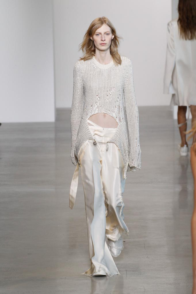 Calvin Klein, Spring 2016, New York, September 17 2015