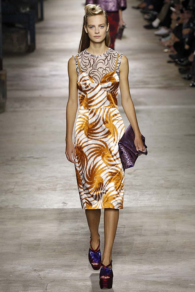 Dries Van Noten Paris RTW Spring Summer 2016 September-October 2015
