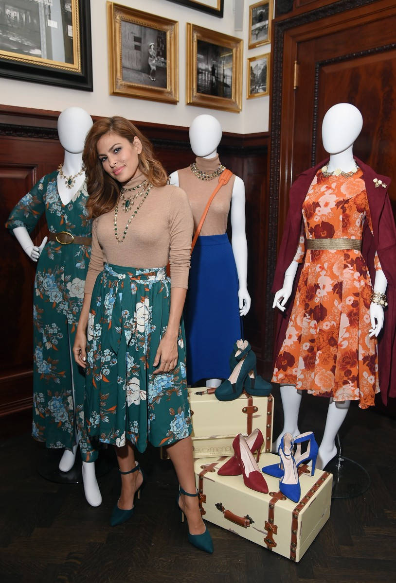 Eva Mendes Launches Fall 2015 New York & Company Collection