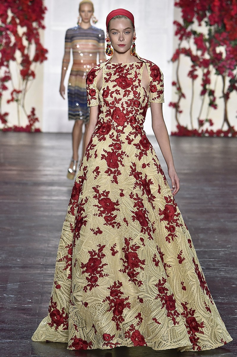 Naeem Khan New York RTW Spring Summer 2016 September 2015