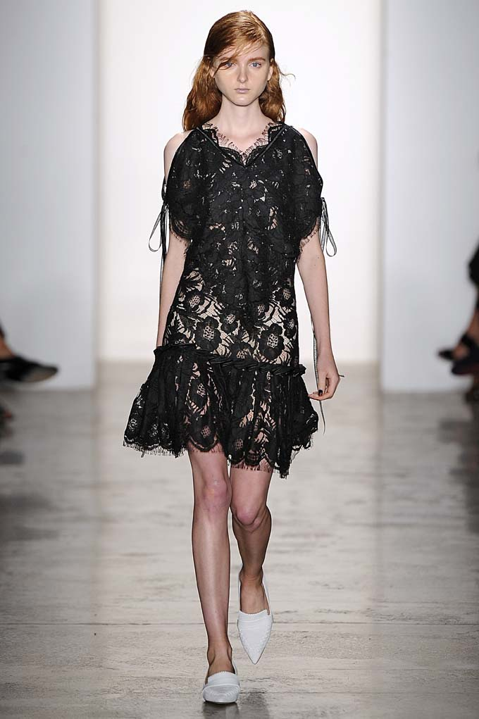 Wes Gordon New York RTW Spring Summer 2016 September 2015
