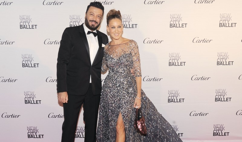 Zuhair Murad, Sarah Jessica Parker== New York City Ballet 2015 Fall Fashion Gala== Lincoln Center, NYC== September 30, 2015== ©Patrick McMullan== Photo - Nicholas Hunt / PatrickMcMullan.com== ==