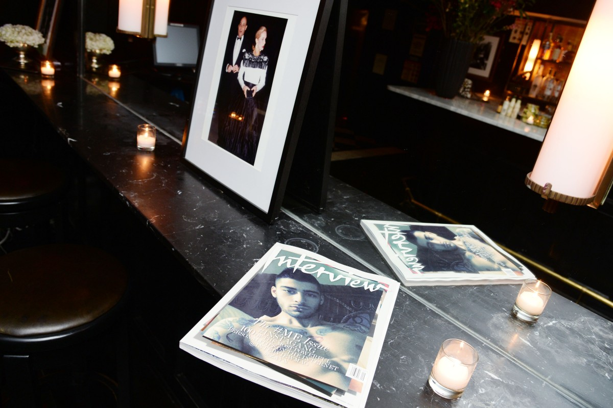 Interview & Level 99 Present An Intimate Dinner and Cocktails Hosted by Mick Rock and Petra Nemcova