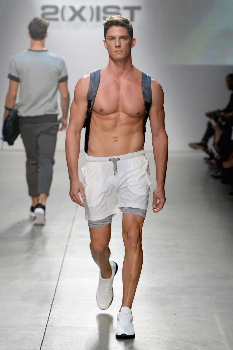 Male underwear fashion show video 83