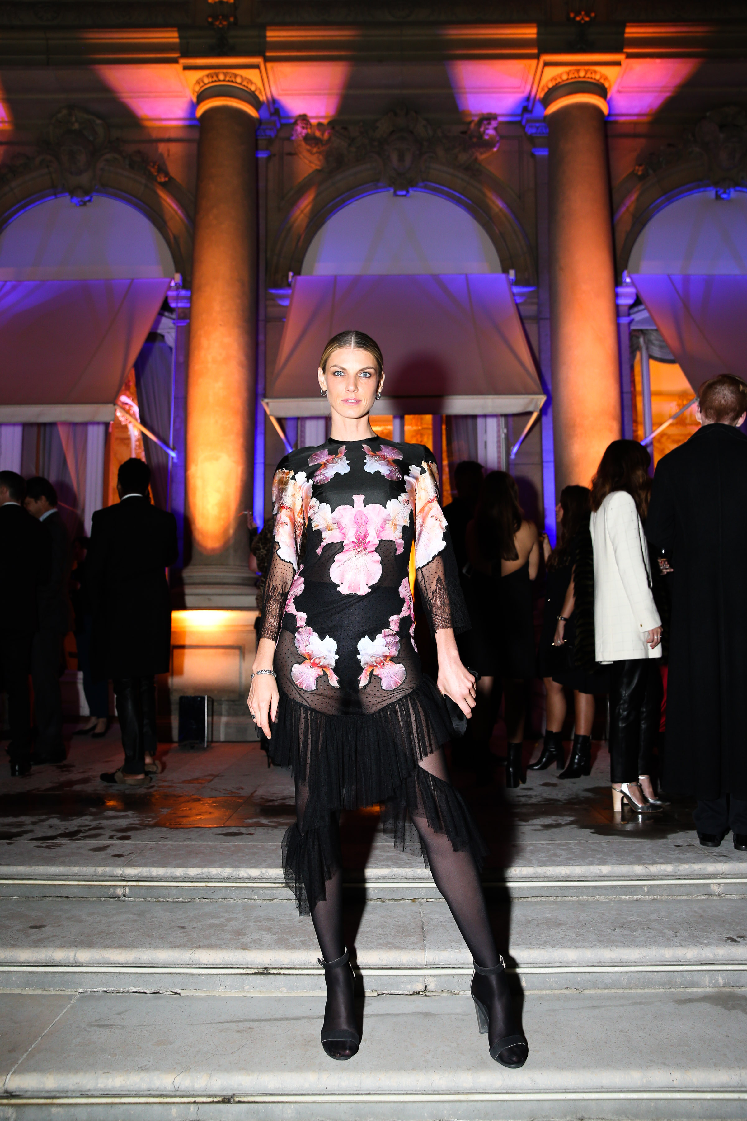 Elles double anniversary bash in paris daily front row angela lindvall baditri Choice Image
