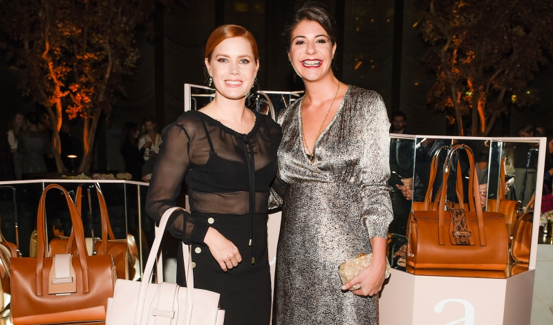both wearing Max Mara, Maria Giulia Maramotti, Amy Adams