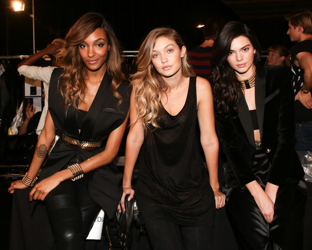 Kendall Jenner, Gigi Hadid, Jourdan Dunn