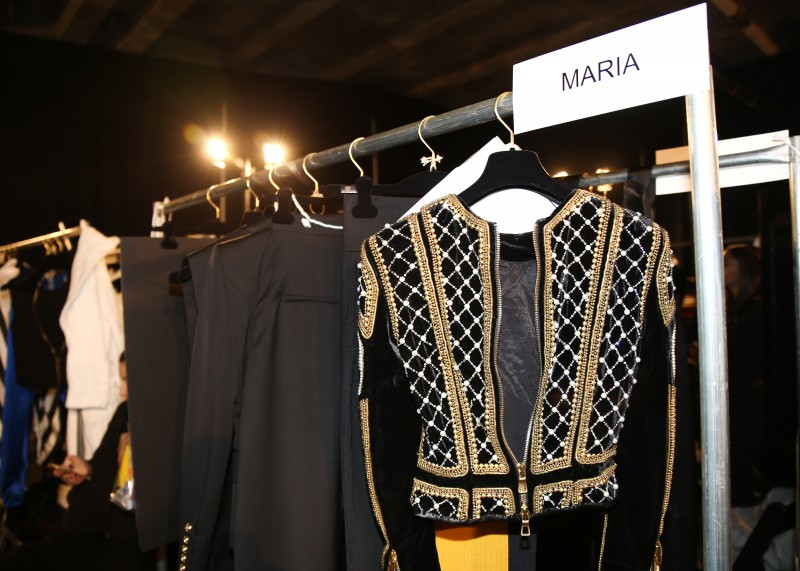 BALMAIN x H&M Launch - Backstage