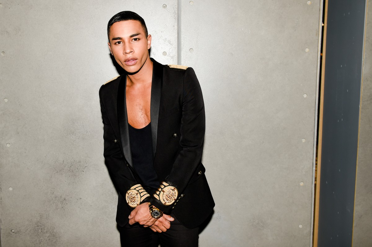 BALMAIN X H&M Launch – Inside