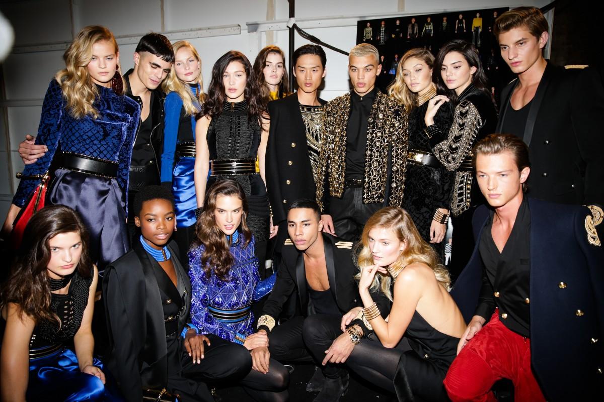 BALMAIN x H&M Launch – Backstage