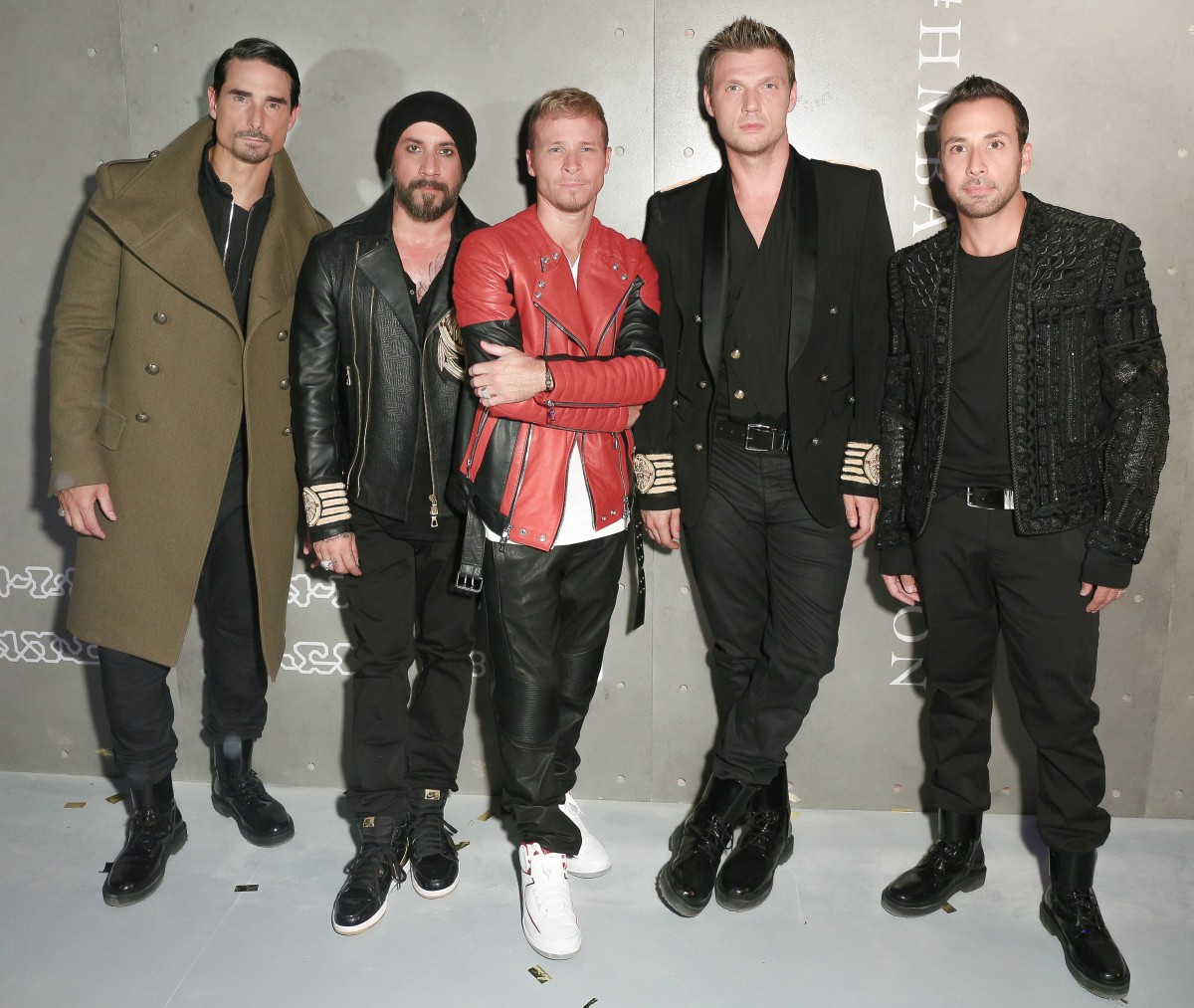 Backstreet Boys, Kevin Richardson, AJ McLean, Brian Littrell, Nick Carter, Howie Dorough
