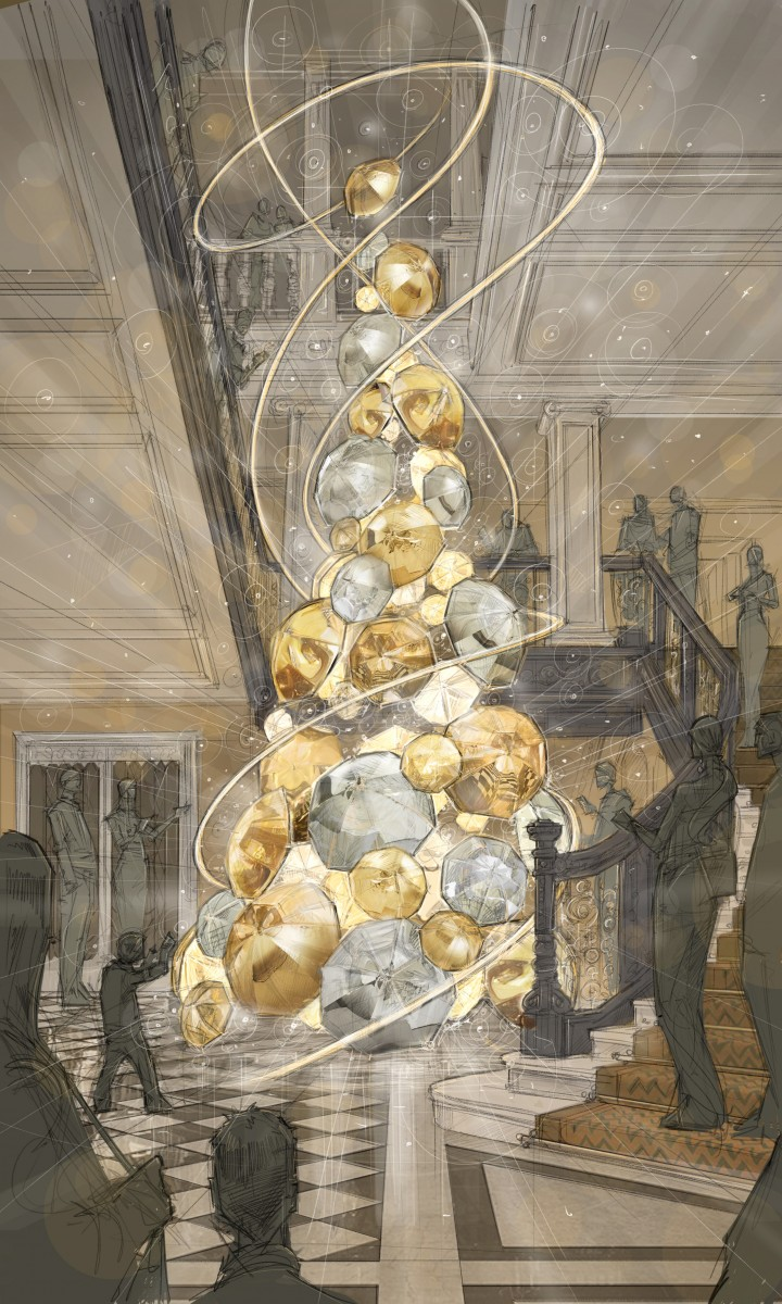 Claridge's Tree sketch 2015