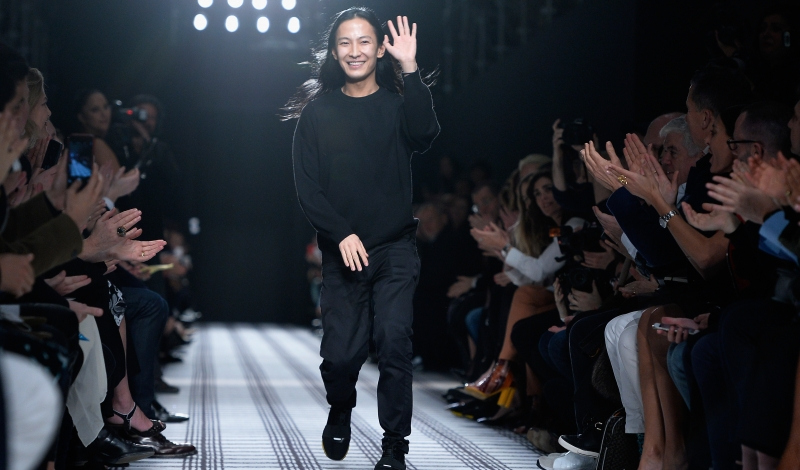 PARIS, FRANCE - MARCH 06:  Designer Alexander Wang walks the runway after the Balenciaga show as part of the Paris Fashion Week Womenswear Fall/Winter 2015/2016 on March 6, 2015 in Paris, France.  (Photo by Pascal Le Segretain/Getty Images)
