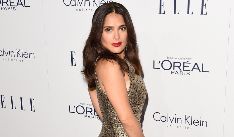 LOS ANGELES, CA - OCTOBER 19:  Actress Salma Hayek attends the 22nd Annual ELLE Women in Hollywood Awards at Four Seasons Hotel Los Angeles at Beverly Hills on October 19, 2015 in Los Angeles, California.  (Photo by Jason Merritt/Getty Images)