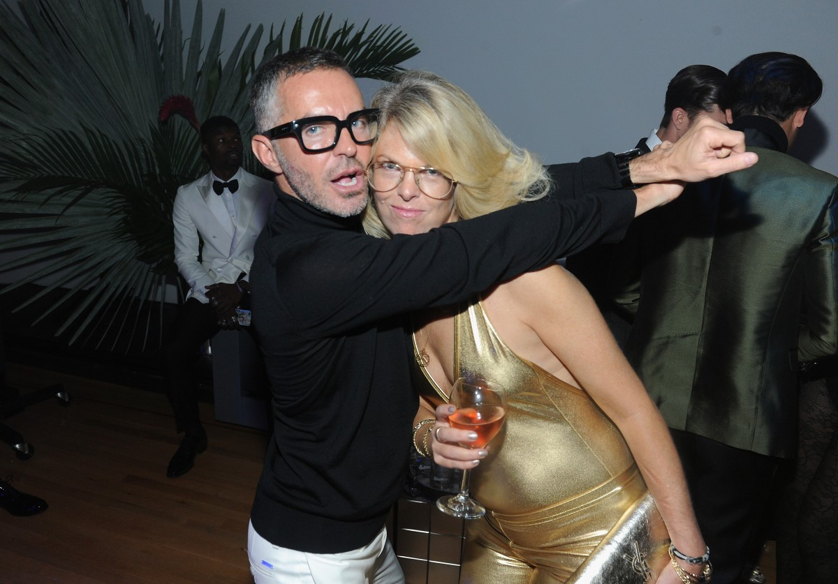 Dean And Dan Caten Celebrate Their One Year U.S. Retail Anniversary With A Private Party At The Halston House