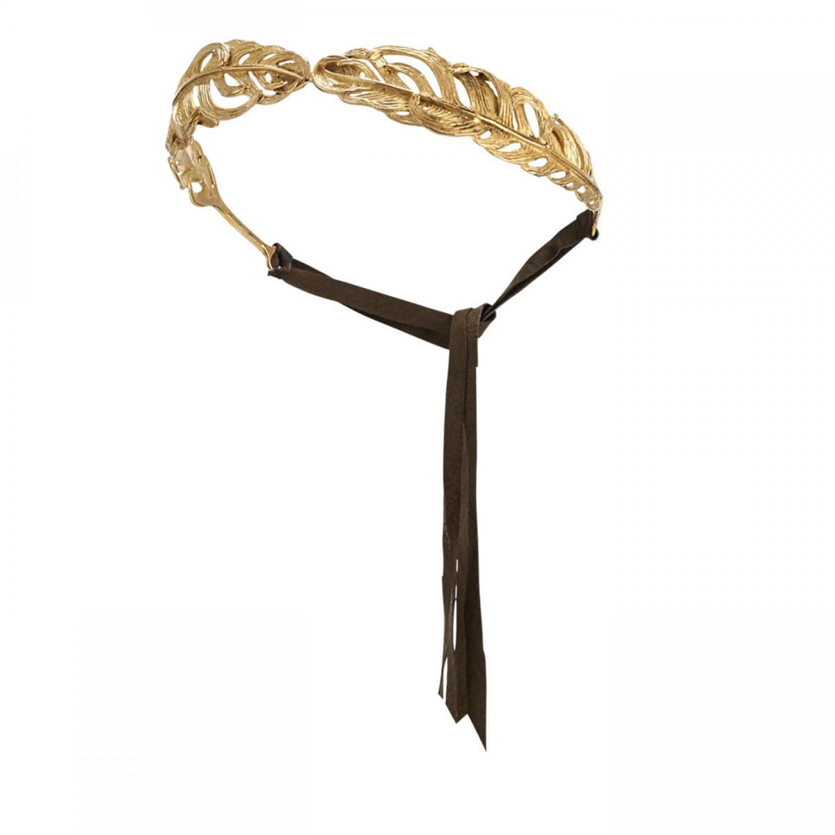 Madina Visconti – Feather Headband – Available on www.artemest.com