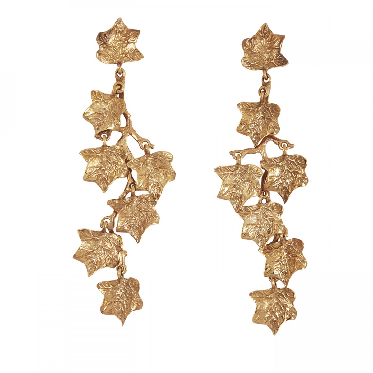 Madina Visconti – Ivy Vine Earrings – Available on www.artemest.com