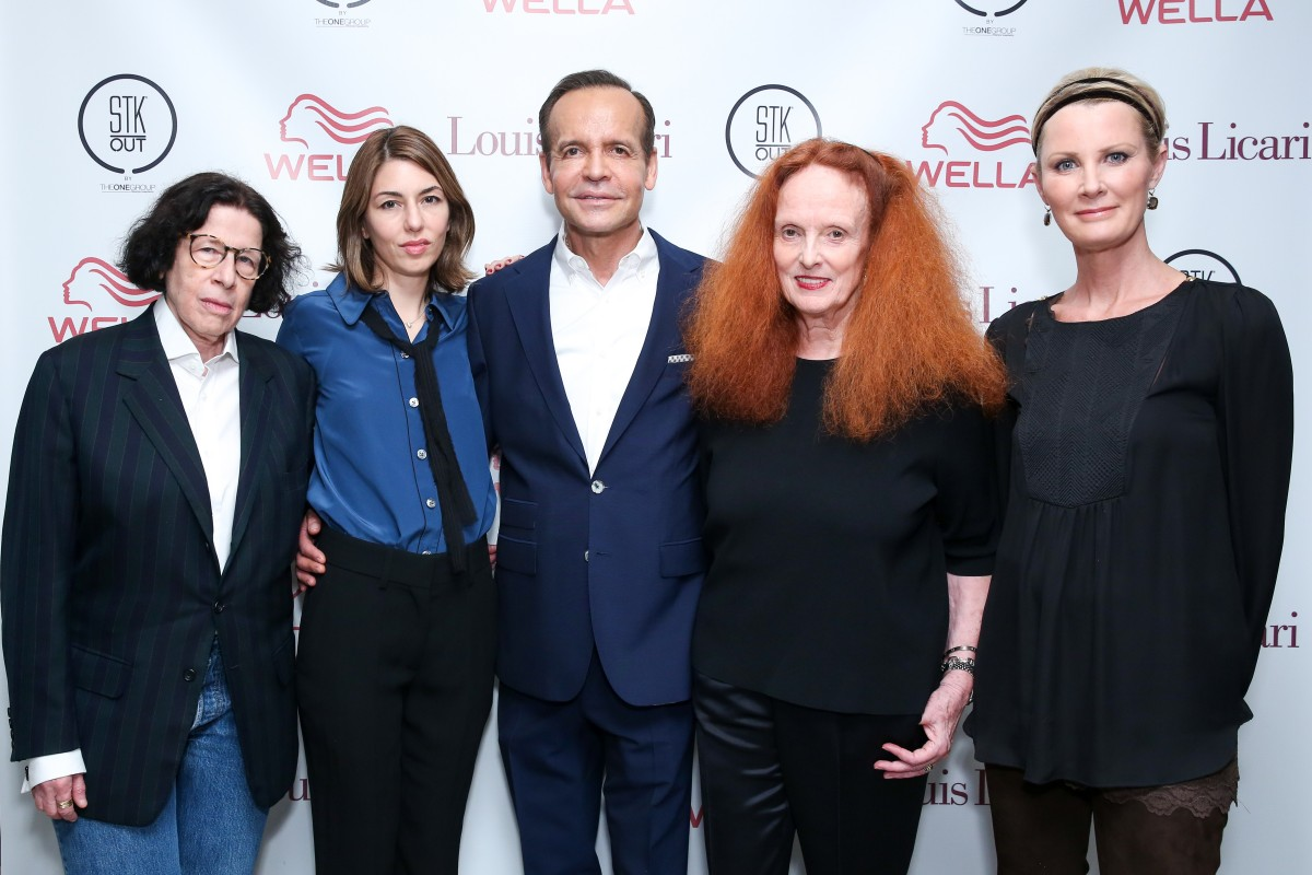 Louis Licari Salon Opening: Sophia Coppola and Grace Coddington