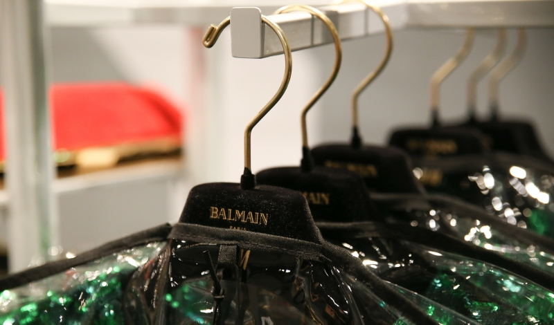 BALMAIN x H&M Launch - Inside