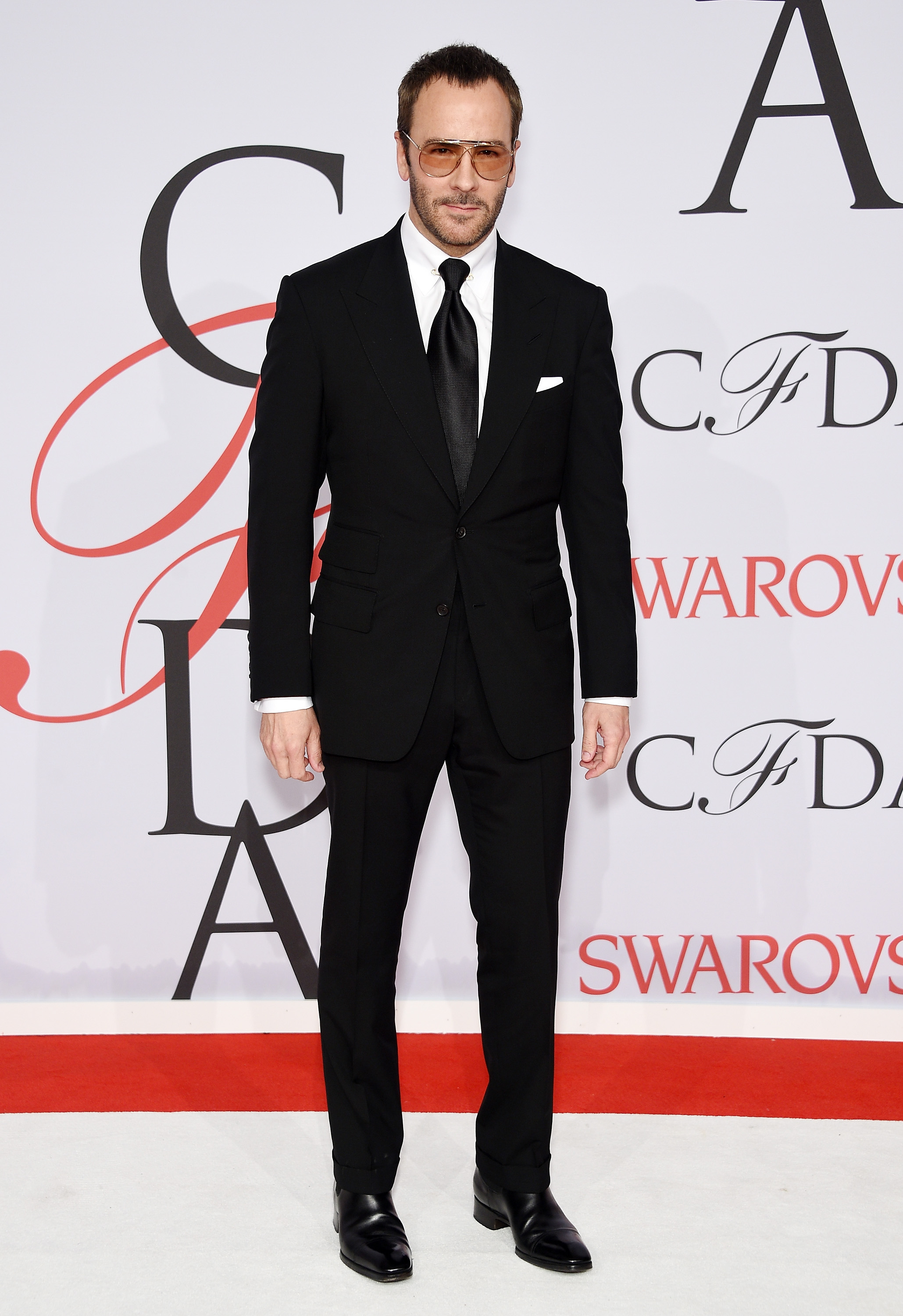 Fashion designer tom ford at the hollywood something or other awards - Tom