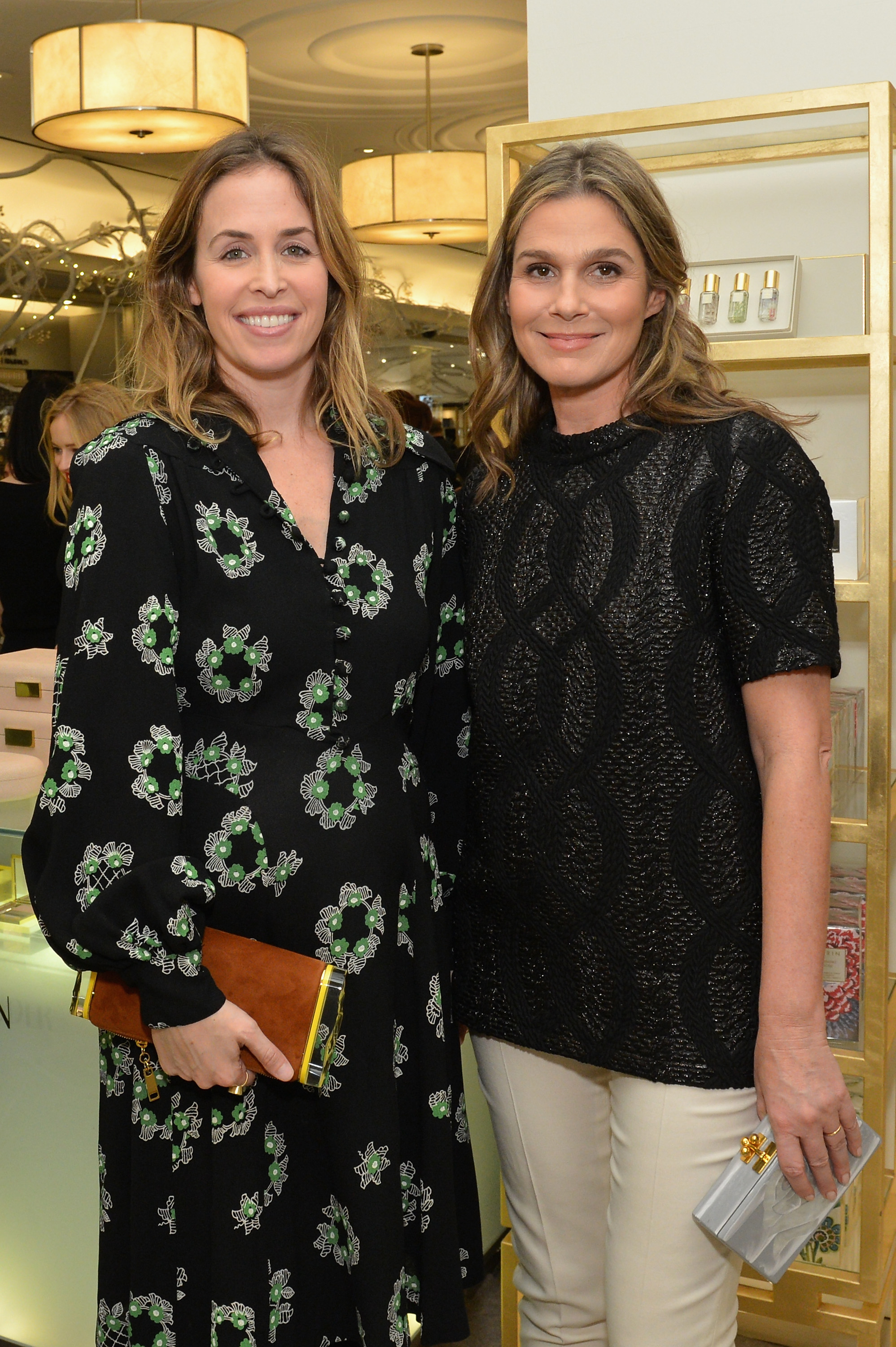 45c93890f5ad Bags and Beauty  A Night with Aerin Lauder and Edie Parker - Daily ...