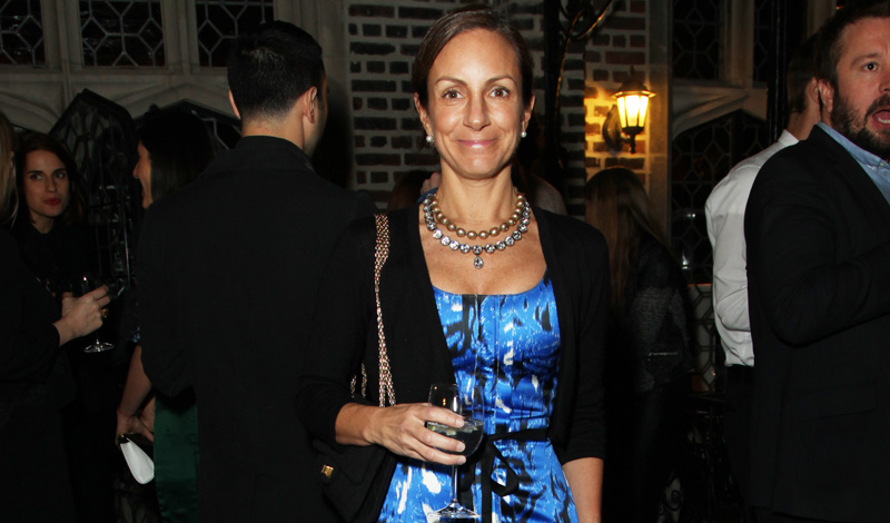 Gretchen Gunlocke Fenton== Viewing and Celebration of the first HOUSE of WARIS for Forevermark Collection== The Explorers Club, NYC== October 18, 2013== ©Patrick McMullan== Photo- JG/PatrickMcMullan.com== ==
