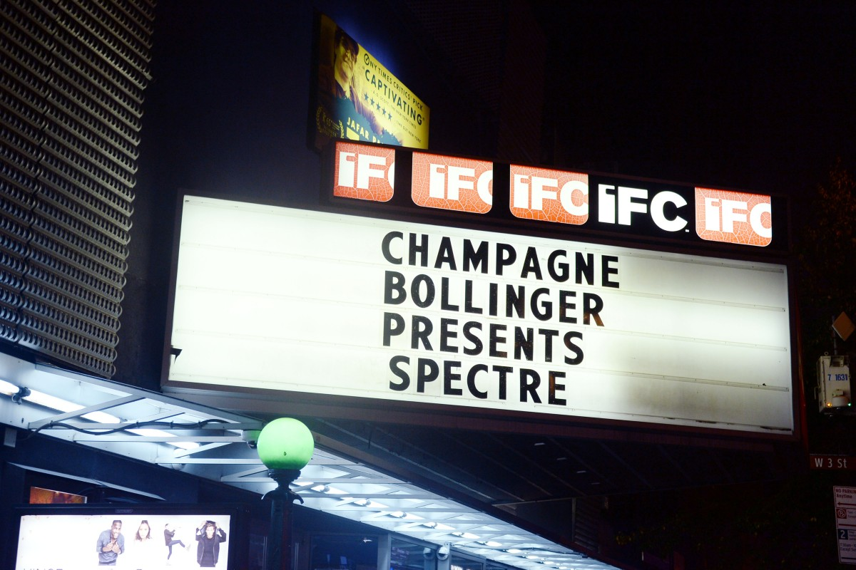 "Champagne Bollinger with The Cinema Society host a pre-release screening of ""Spectre"""