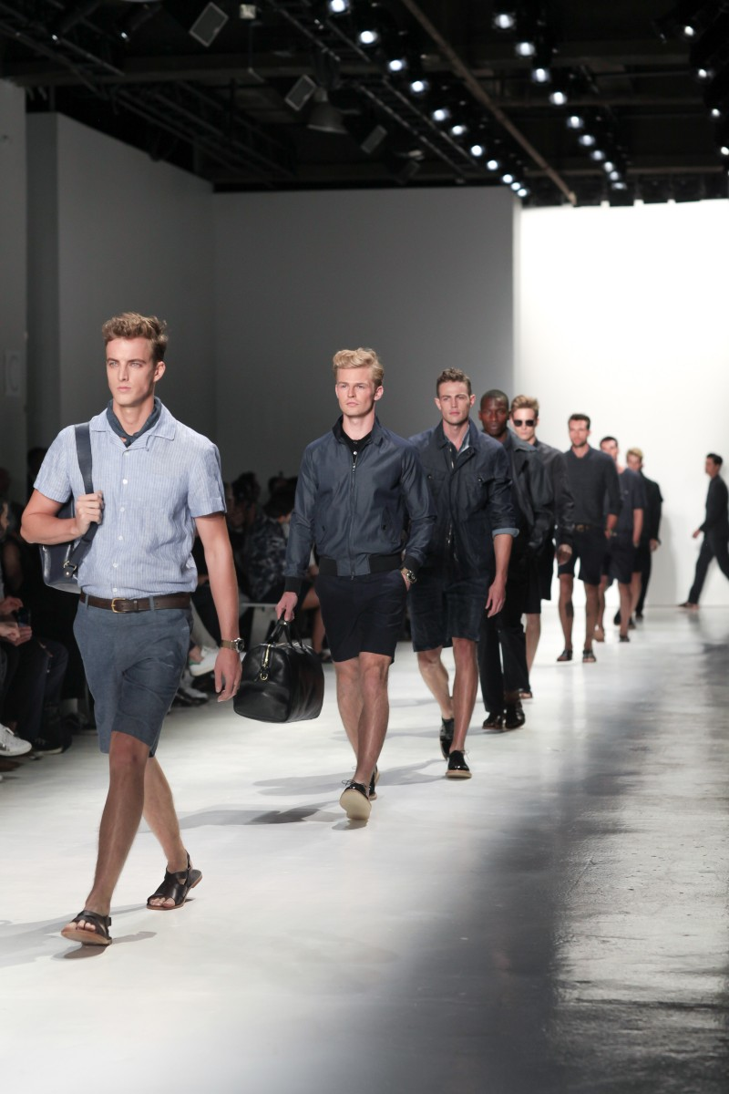 TODD SNYDER Spring/Summer 2016 Men's Runway at New York Fashion Week: Mens, an initiative of the CFDA.
