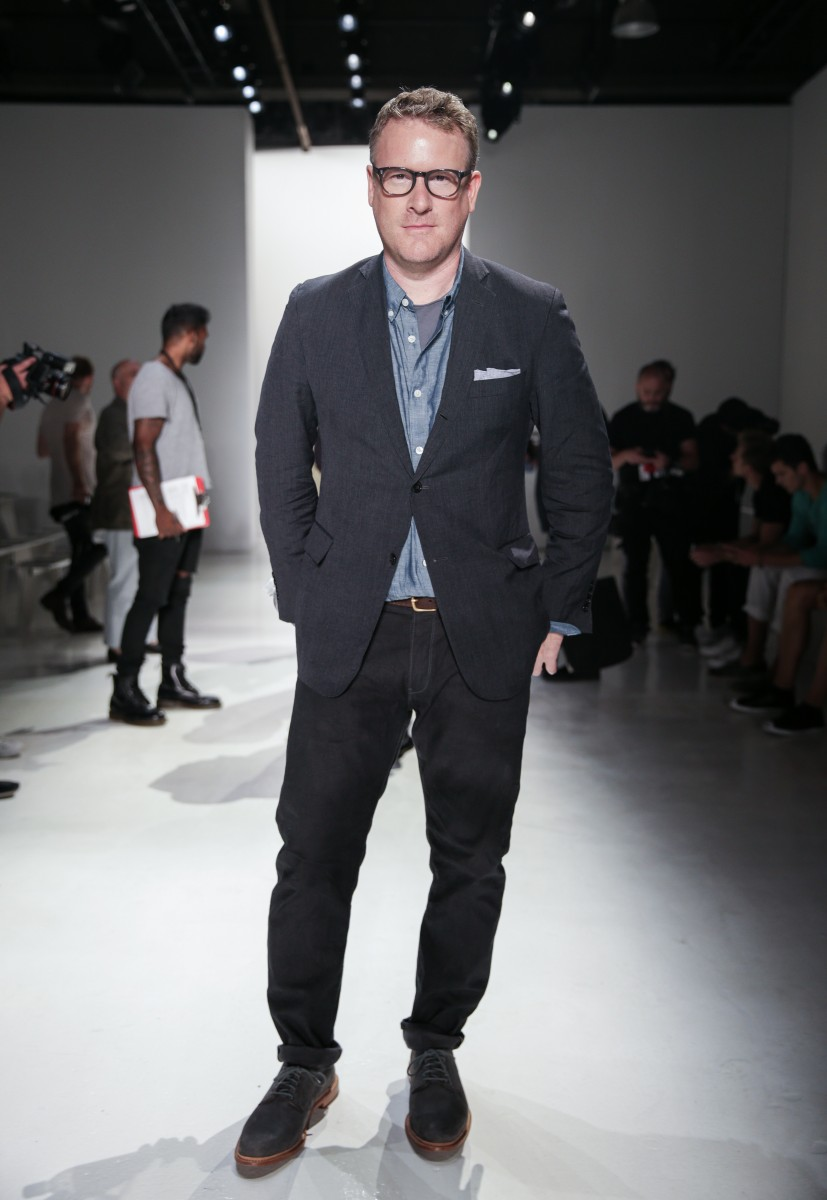 New York Fashion Week: Men's, presented by AMAZON FASHION, East Dane, MyHabit, and the CFDA [DAY TWO]