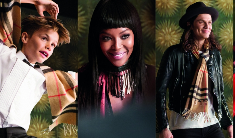Burberry Festive Film - The Cast, shot by Burberry