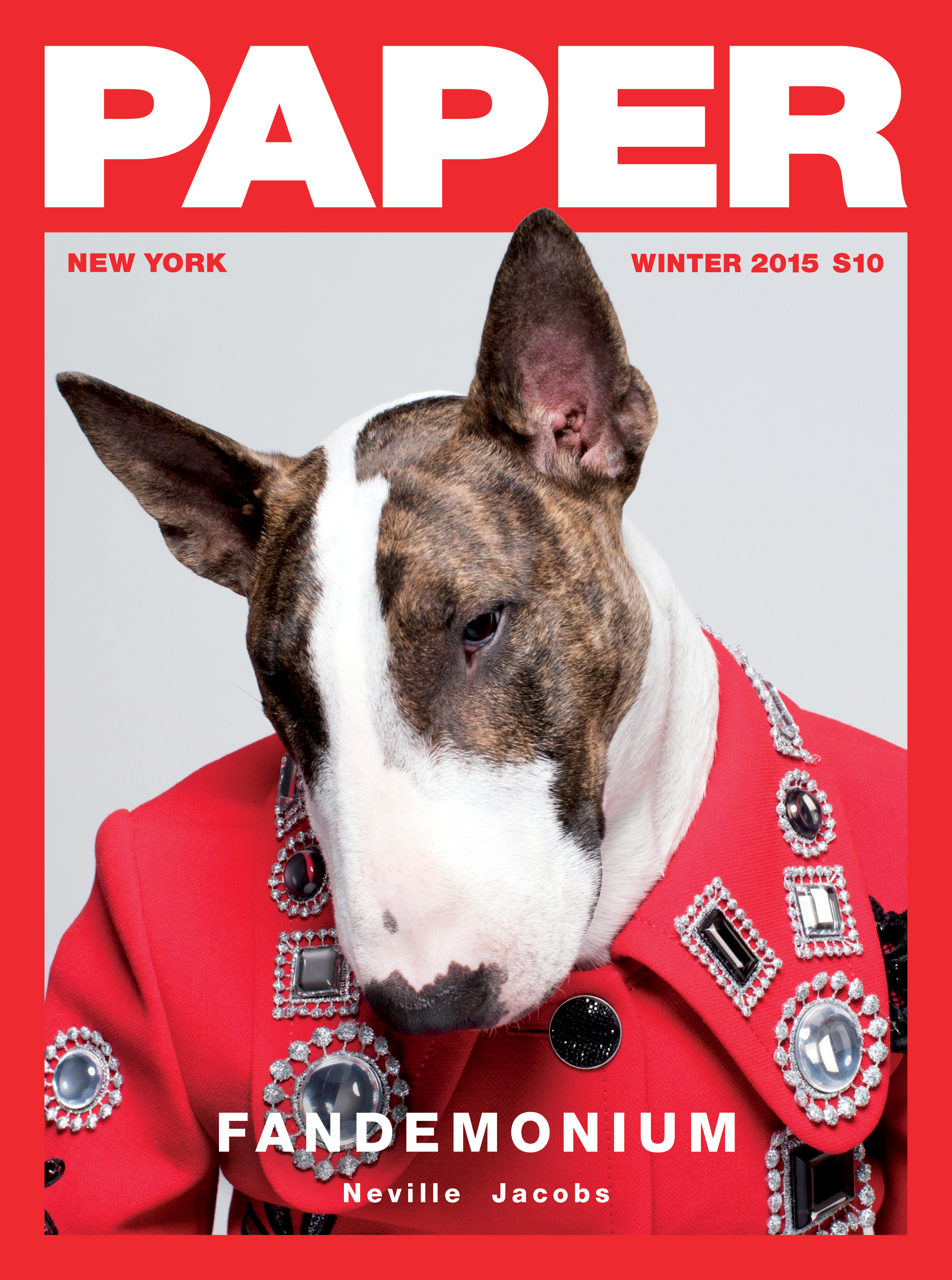 Neville Jacobs Scores Paper Magazine Cover - Daily Front Row-5391