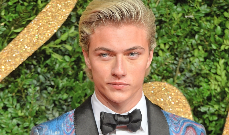 LONDON, ENGLAND - NOVEMBER 23:  Lucky Blue Smith attends the British Fashion Awards 2015 at London Coliseum on November 23, 2015 in London, England.  (Photo by Anthony Harvey/Getty Images)