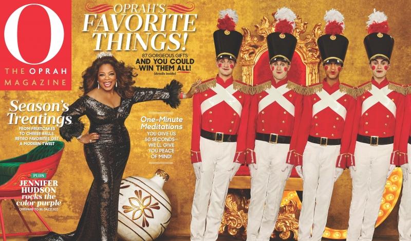 O Mag December Cover