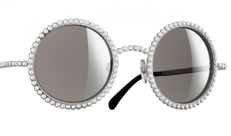 Chanel Sunglasses Pearl  chanel round runway pearl sunglasses archives daily front row