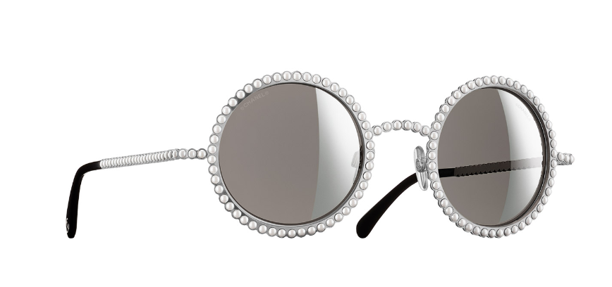 Chanel Sunglasses With Pearls  pearls of wisdom chanel s 500 eyewear styles online daily