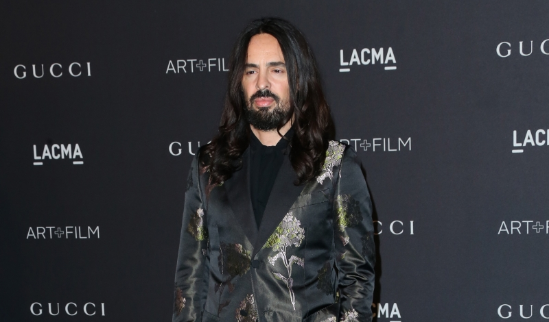LOS ANGELES, CA - NOVEMBER 07:  Gucci Creative Director Alessandro Michele attends LACMA 2015 Art+Film Gala Honoring James Turrell and Alejandro G Iñárritu, Presented by Gucci at LACMA on November 7, 2015 in Los Angeles, California.  (Photo by Frederick M. Brown/Getty Images)