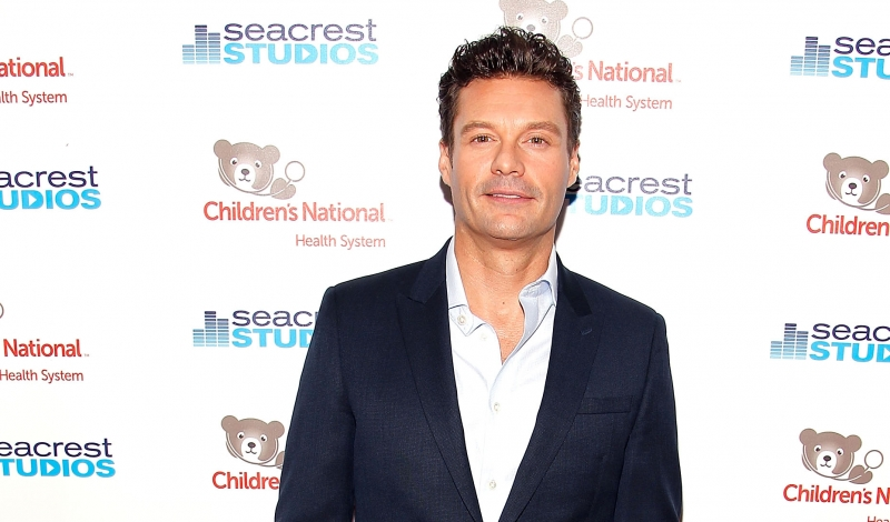 WASHINGTON, DC - NOVEMBER 06:  Ryan Seacrest arrives for the grand opening of the new state-of-the-art Secrest Studios at Children's National Health System on November 6, 2015 in Washington, DC. The studio will broadcast entertainment programming throughout the hospital and provide a creative, interactive experience for patients.  (Photo by Paul Morigi/Getty Images for Children's National Health System)